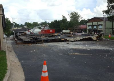 Commercial Demolition – Blue Ridge City Hall